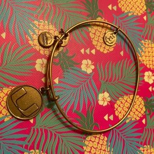 Alex and ani UMiami bracelet gold
